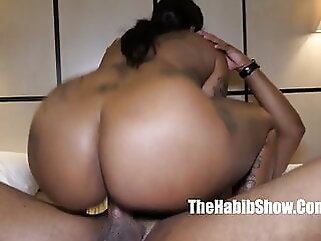 Damn, she's thick. Phatt booty dominican chocolate Cokaiine Stax big boobs blowjob